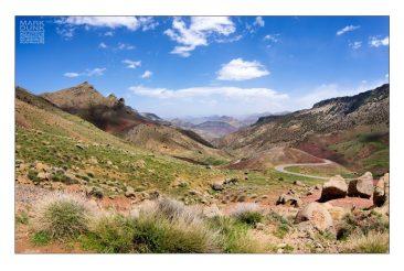 High pass in the atlas mountainsMorocco