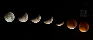 supermoon eclipse composite image