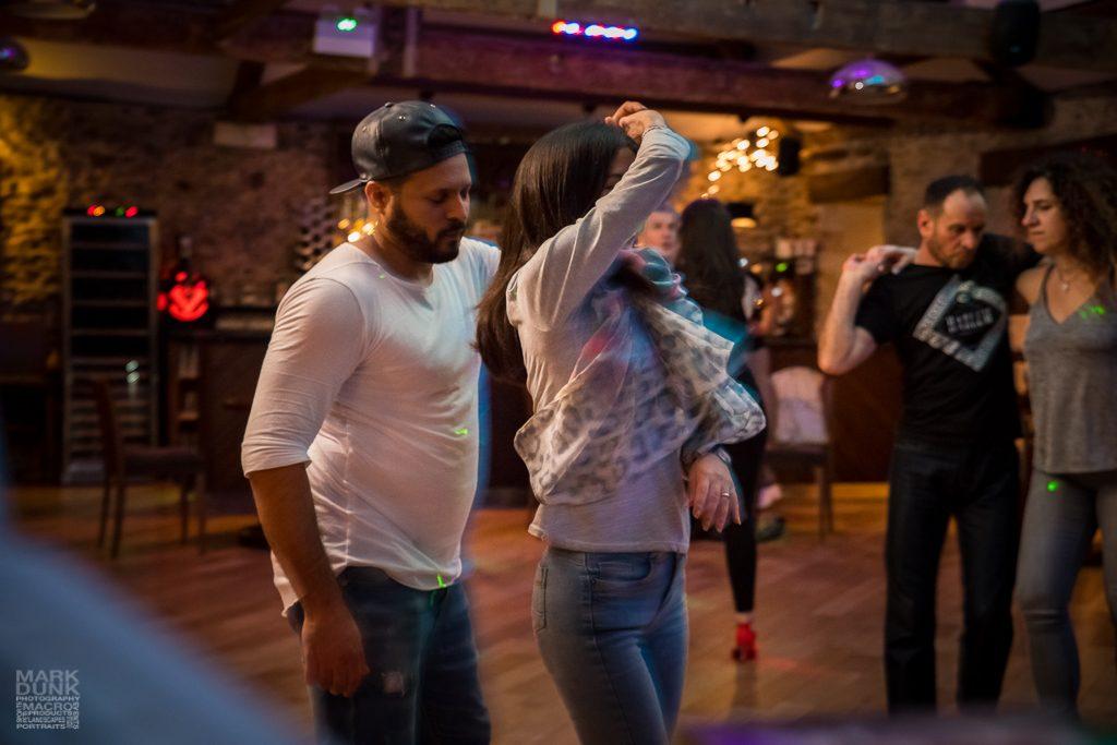 Dancers motion blur
