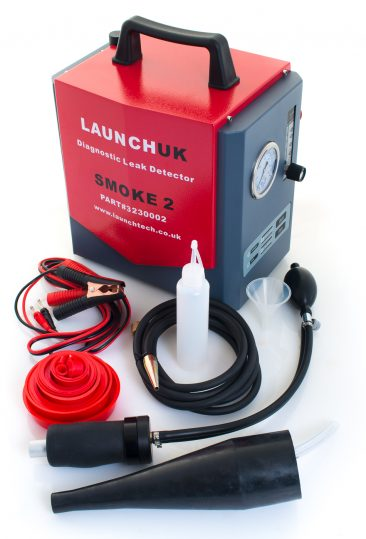 Smoke machine product photograph for Launch UK