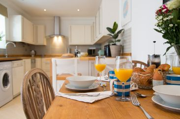 photography for interiors - B&B breakfast table