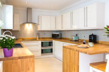 interiors photography - kitchen units
