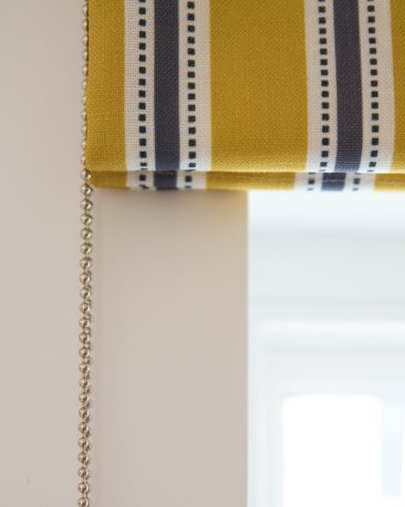 property photography - detail of window blind