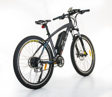 product photograph of electric bicycle